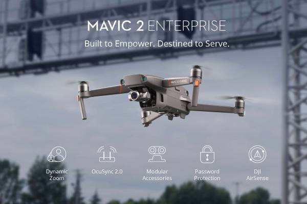 مشخصات Mavic 2 Enterprise