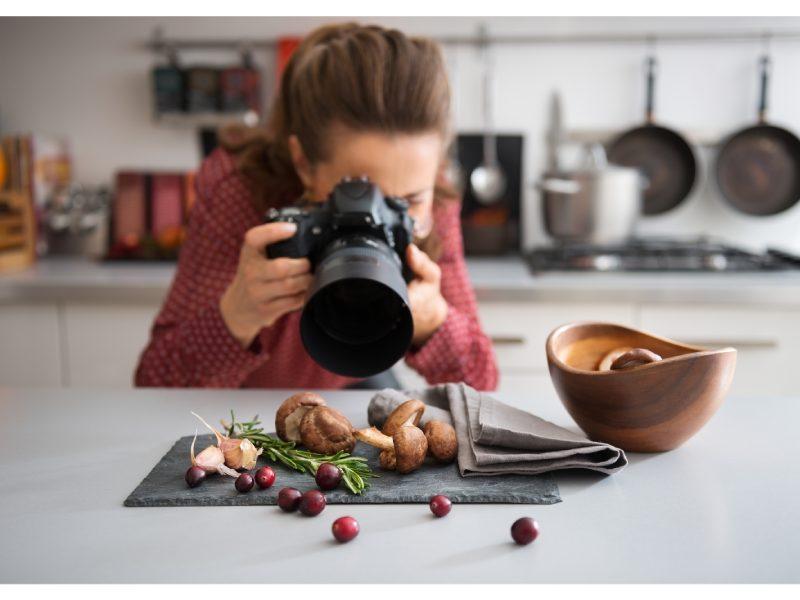 شروع عکاسی از غذا