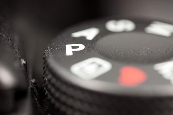 حالت P در دوربین عکاسی