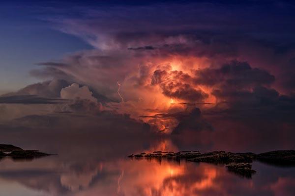 تکنیک های عکاسی از ابرها