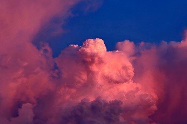 عکاسی از ابر ها در ساعت طلایی