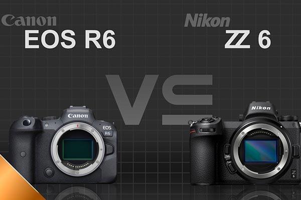 تفاوت های میان دوربین EOS R6 و Z6
