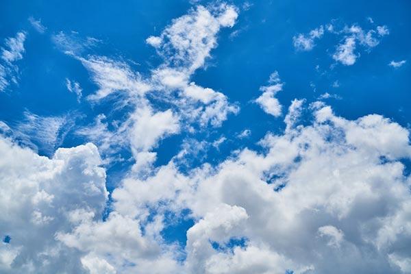 تنظیمات مناسب برای عکاسی از ابر ها