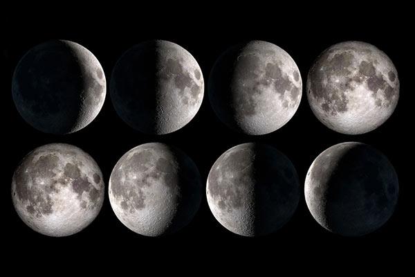 زمان مناسب عکاسی از ماه