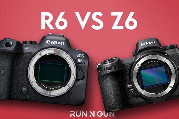 مقایسه دوربین های کانن EOS R6 و نیکون Z6