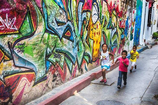 نقاشی های گرافیتی در عکاسی