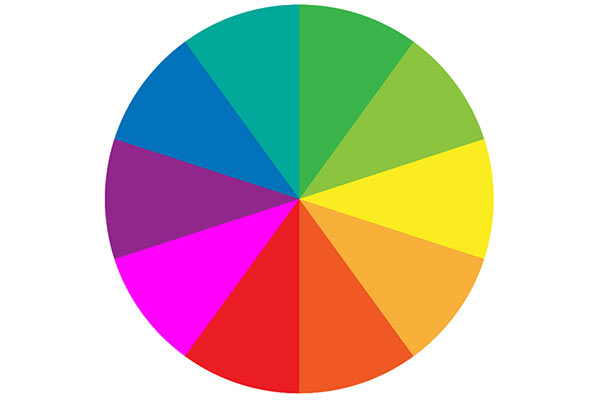 تاثییر رنگ ها در عکس