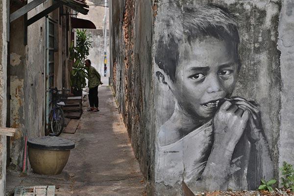 Graffiti Art برای انتقال پیام و موضوعات