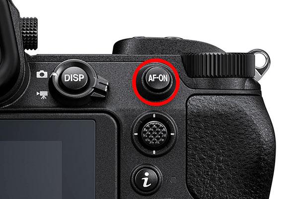 عملکرد Back-Button Focus
