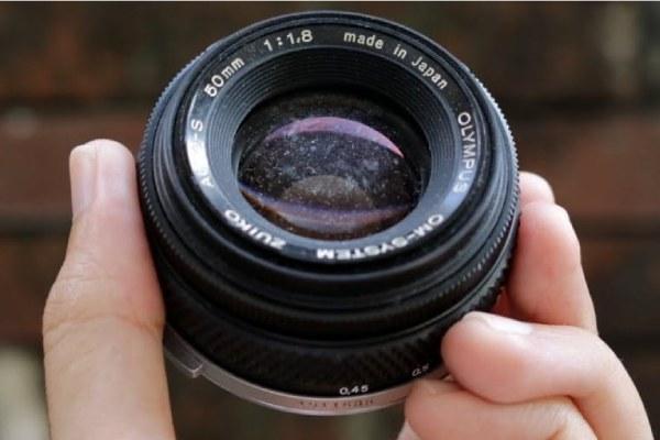 از بین بردن قارچ لنز دوربین