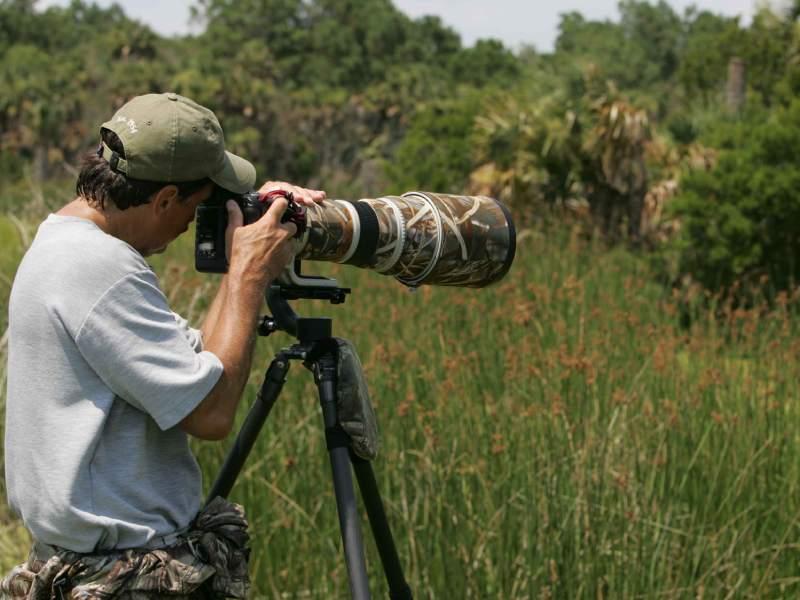 استفاده از تریپاد در عکاسی طبیعت