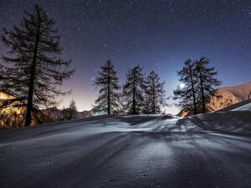عکاسی از طبیعت در شب