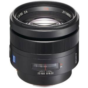 لنز دوربین پرایم تله فوتو سونی sony Planar T * 85mm f / 1.4 ZA