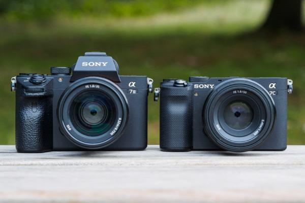 مقایسه دوربین های سونی A7c و A7iii