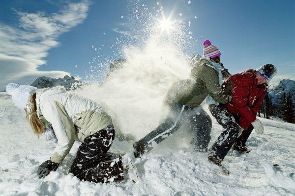 سرعت شاتر در عکاسی در برف