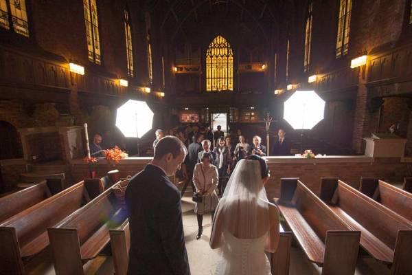 تجهیزات نورپردازی در عکاسی عروسی