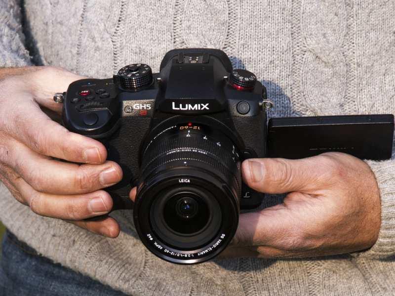 عملکرد سنسور دوربین پاناسونیک Lumix GH5S