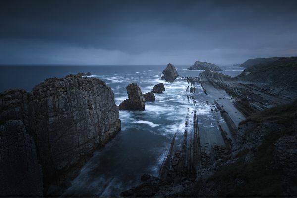 فیلتر nd عکاسی از ساحل