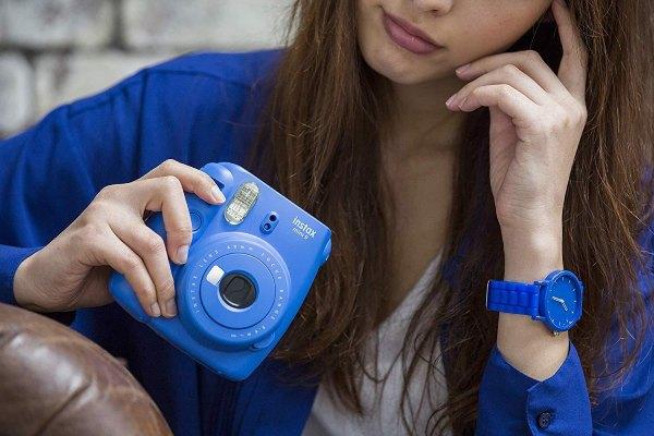 دوربین چاپ سریع Fujifilm instax mini 9 Cobalt Blue