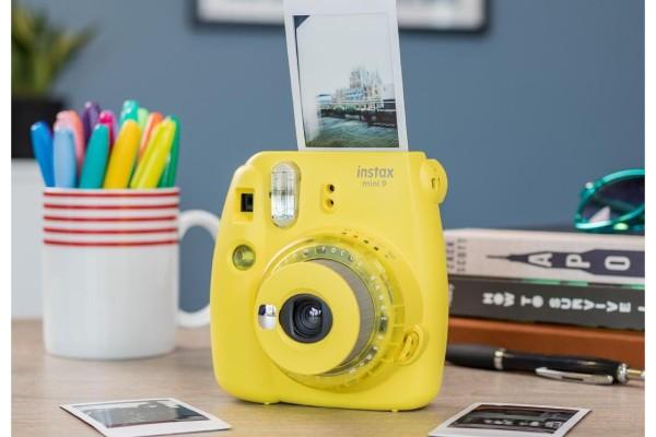 مشخصات دوربین Fujifilm instax mini 9 Instant Clear Yellow زرد رنگ