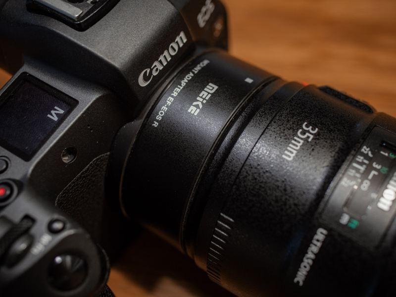 لنز نیکون روی دوربین های DSLR کانن