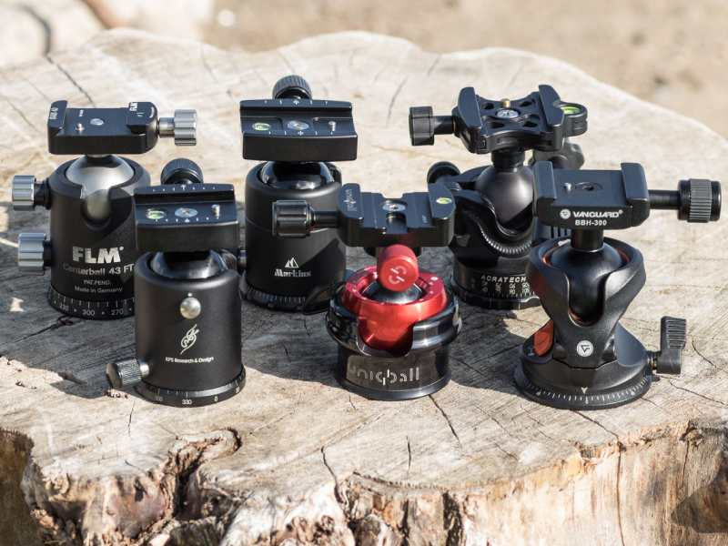 انواع سری و هد های سه پایه دوربین عکاسی