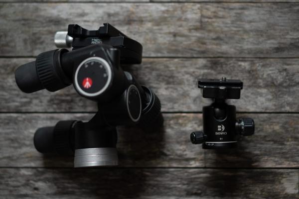 انواع هد سه پایه دوربین عکاسی